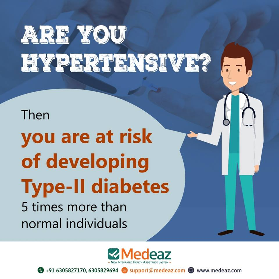 Can Hypertension Cause Diabetes Type 2