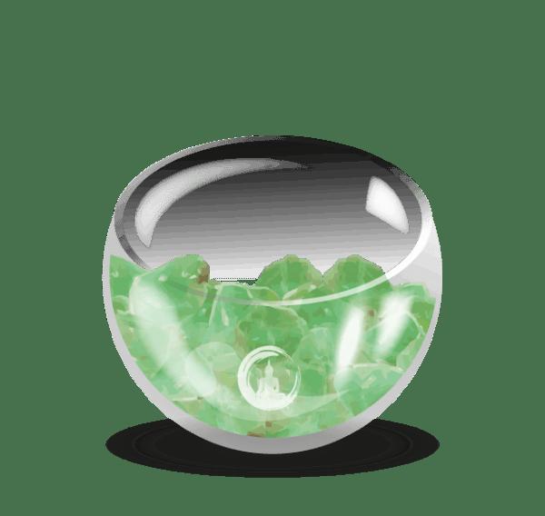 spirit-calciet lamp