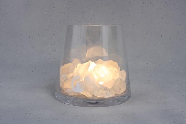 Grote Bergkristal lamp Sense