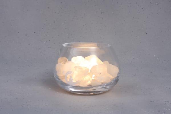 Grote Bergkristal lamp Angel
