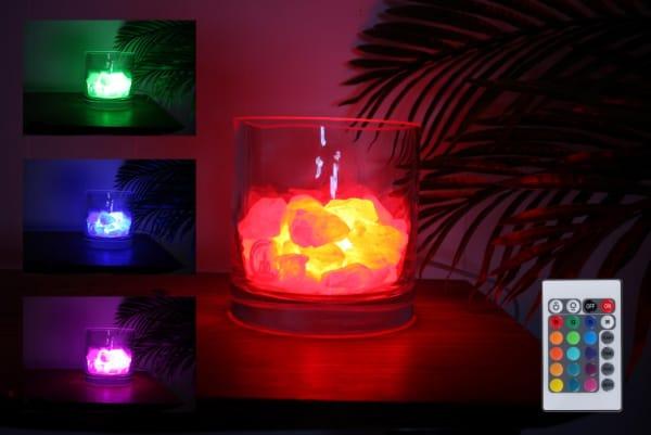 harmonie rozenkwarts lamp