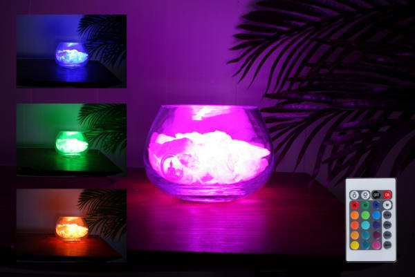 angel rozenkwarts lamp