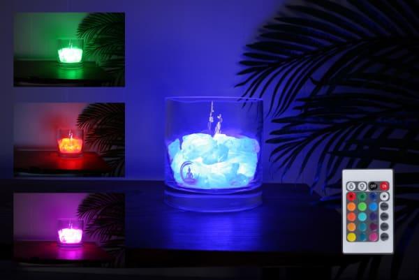 harmonie bergkristal lamp