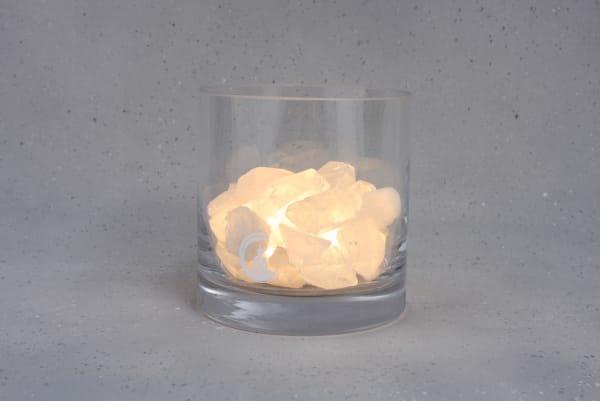Grote Bergkristal lamp Harmonie