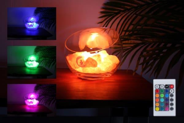 spirit rozenkwarts lamp
