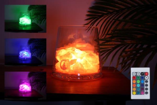 sense rozenkwarts lamp