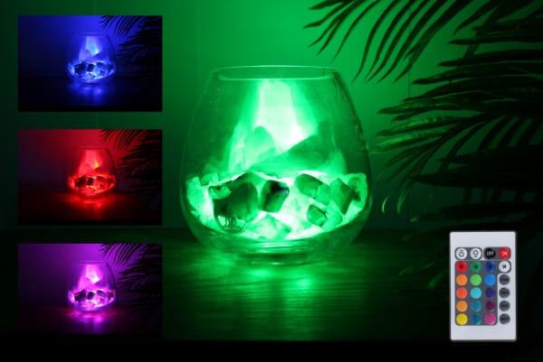 yoga groene calciet lamp