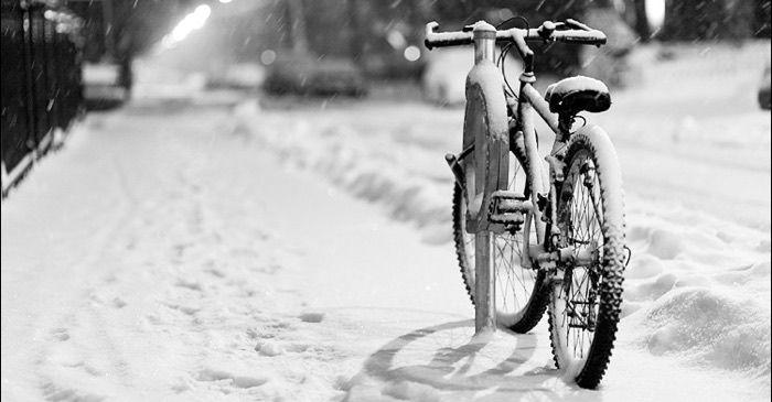 Magasinera din cykel i vinter i 2021