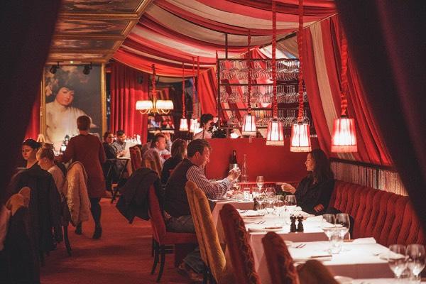 Le rouge - stockholm