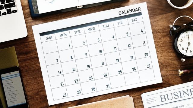 Var flexibel med datumen