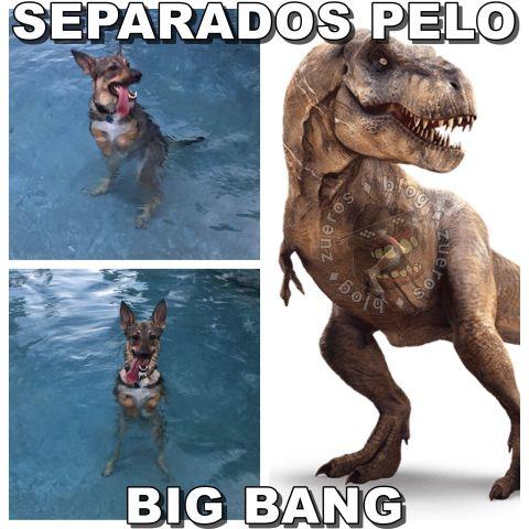 Separados pelo Big Bang
