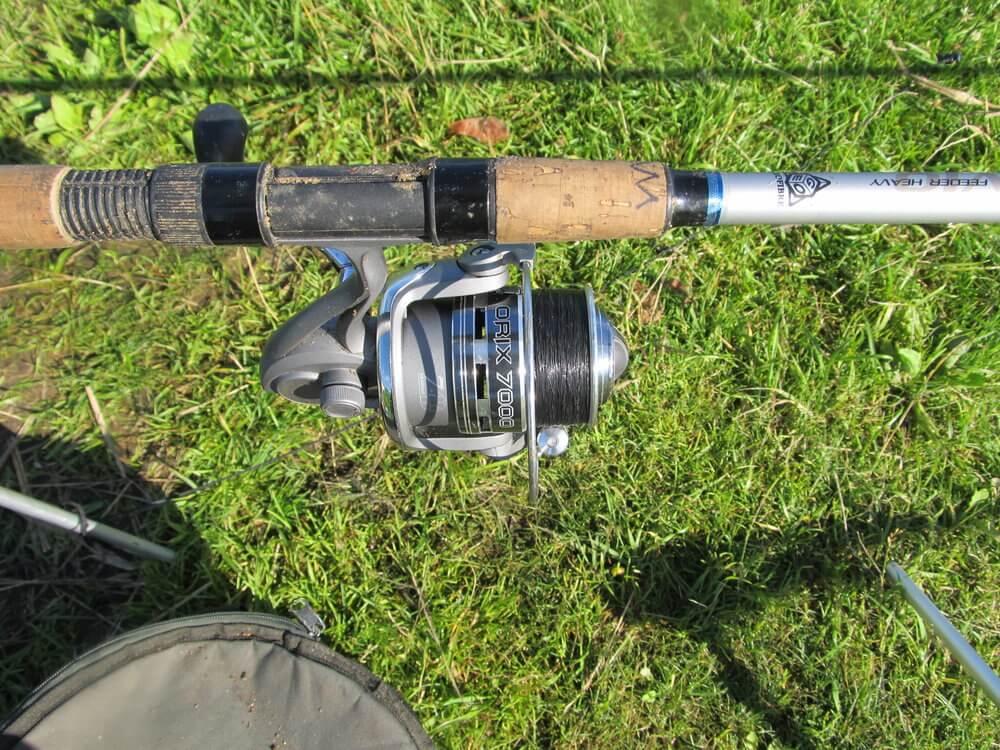 Heavy Feeder žvejyba Vilkokšnyje. Tubertini Orix 7000 dydžio ritė